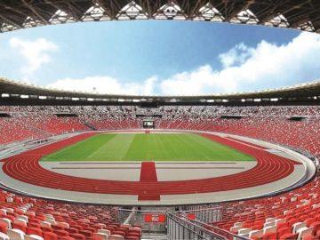 5 Stadion Kandang Timnas Sepak Bola Indonesia 10