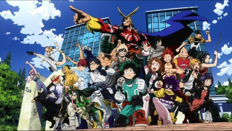 5 Murid Kelas 1-A Terkuat Di Boku No Hero Academia 1