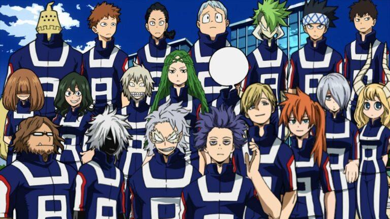 7 Murid Kelas 1-B Terkuat Di Boku No Hero Academia 1
