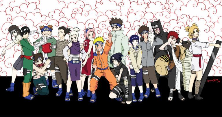 10 Genin Terkuat di Era Naruto Kecil 1