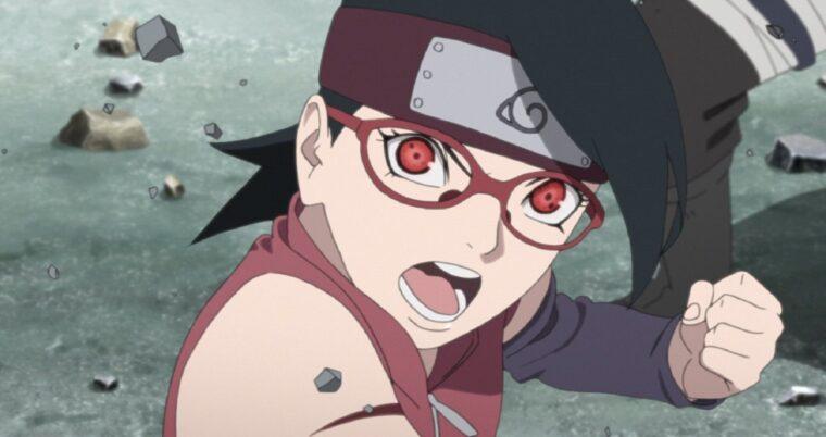10 Perkembangan Terbaik Sarada Uchiha di Anime Boruto 10