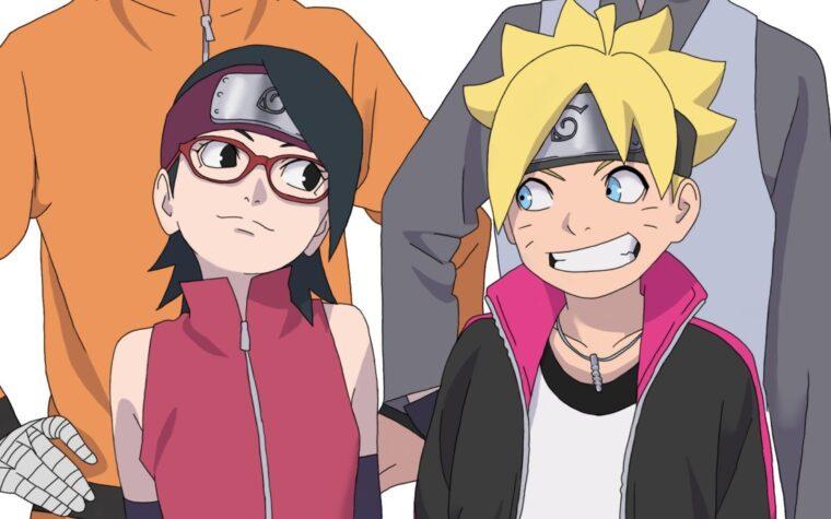10 Perkembangan Terbaik Sarada Uchiha di Anime Boruto 9