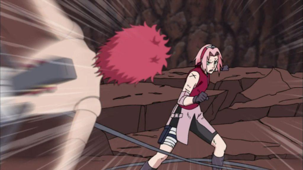 10 Pertarungan Sakura yang Membuatnya Hampir Mati 6