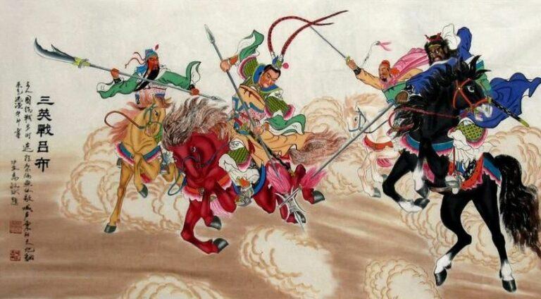Mengenal Jenderal Perang Tiga Negara Pada Sejarah Tiongkok 1