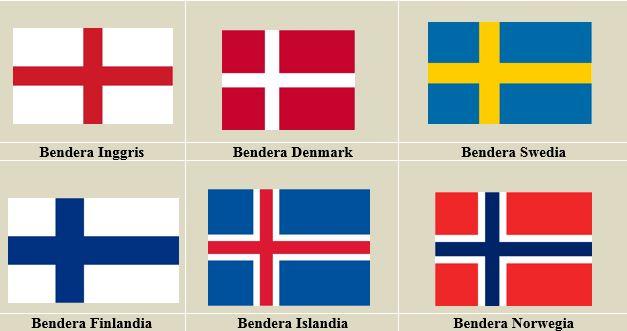 Negara-Negara ini Punya Bendera Nasional yang Mirip 4