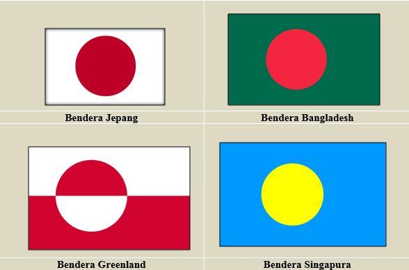 Negara-Negara ini Punya Bendera Nasional yang Mirip 5