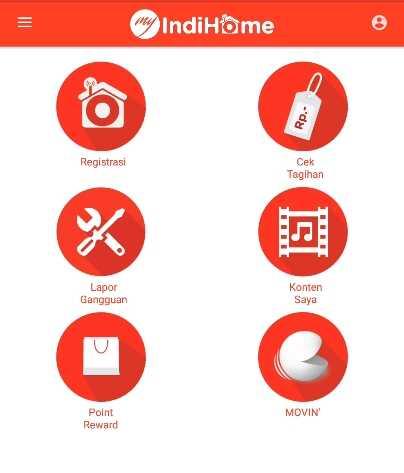 Melaporkan Gangguan Indihome via aplikasi Myindihome