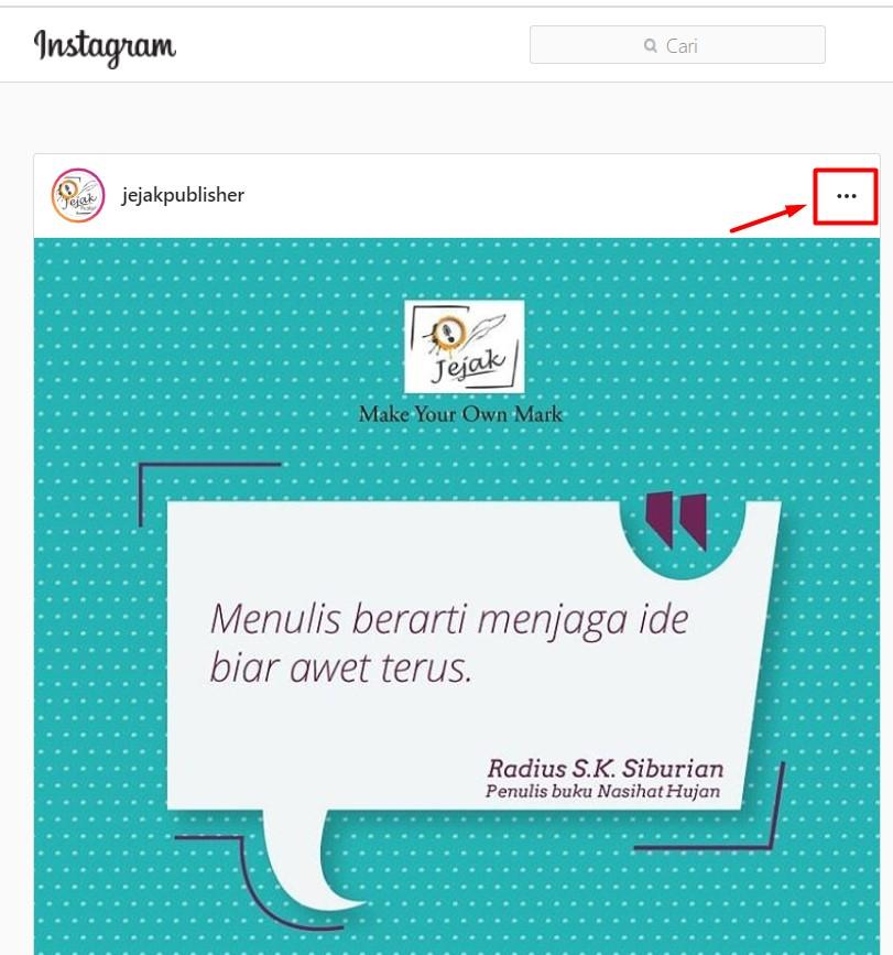 Cara Menyimpan Foto dan Video Ke Dalam Galeri Dengan Mudah Dari Instagram 3