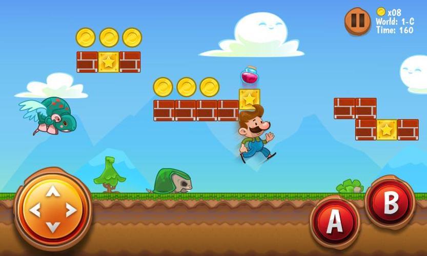 10 Game Android yang Mirip Super Mario 10