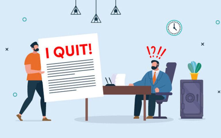 surat pengunduran diri kerja