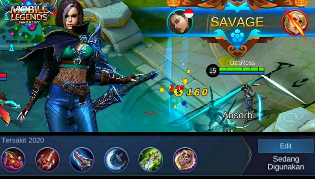 Mobile Legend : Build & Item New Hero Benedetta! Auto Savage 4