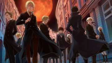 Suka anime detective? Wajib baca manga & nonton anime Moriarty the patriot 5