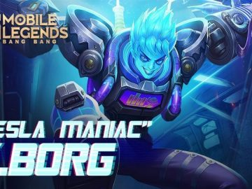 Review Skin X-Borg Tesla Maniac, Begini Cara Mendapatkannya 9