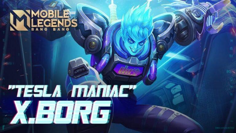 Review Skin X-Borg Tesla Maniac, Begini Cara Mendapatkannya 1