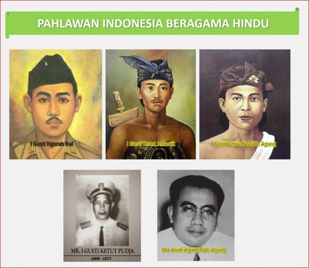 Pahlawan Indonesia Beragama Hindu