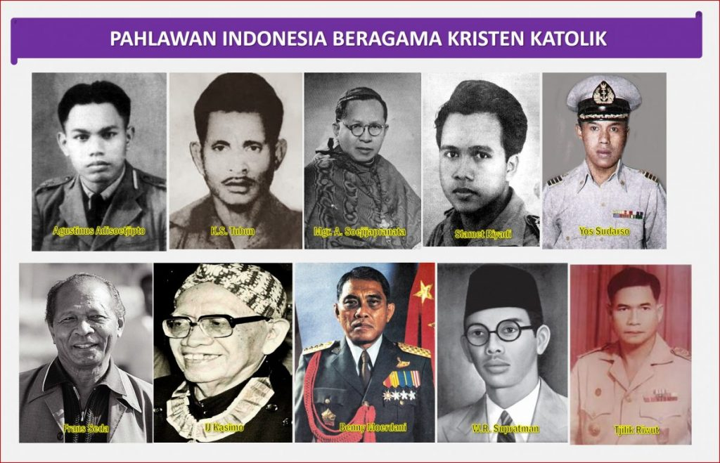 Pahlawan Indonesia Beriman Katolik