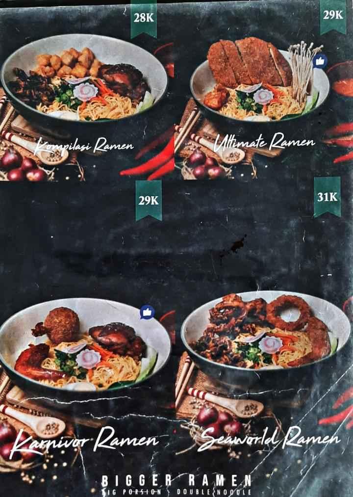 Makan Ramen Murah di Ramen Bajuri Bandung 5