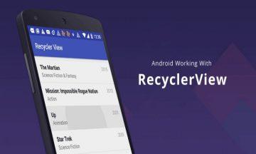 Cara Kerja Recyclerview di Android 28