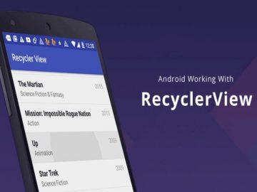 Cara Kerja Recyclerview di Android 12