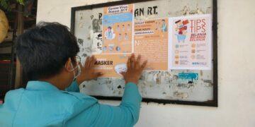 Pendampingan Masyarakat Menghadapi Era New Normal Bagi Warga Kerten Melalui Program KKN UNS 17