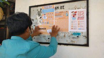 Pendampingan Masyarakat Menghadapi Era New Normal Bagi Warga Kerten Melalui Program KKN UNS 1