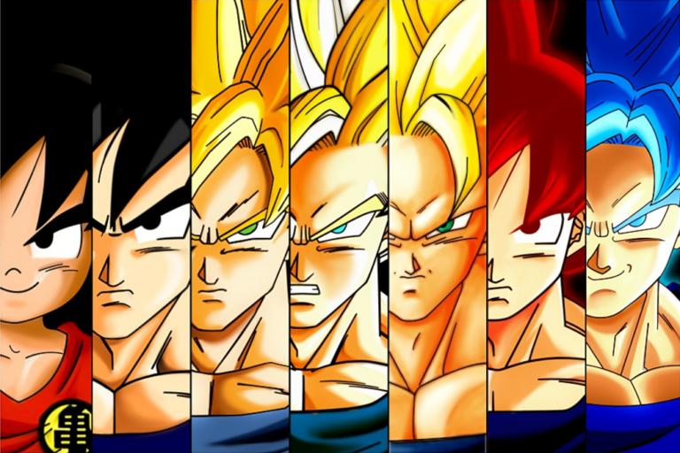 7 Transformasi Gaya Rambut Son Goku Saat Super Saiyan Mode, Paling Keren 1