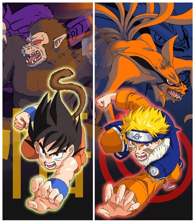 7 Persamaan Antara Dragon Ball dan Naruto 8