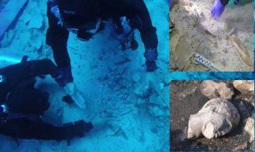 Artefak-Artefak Bawah Laut yang ditemukan di Salamis, Yunani, di Bekas Medan Pertempuran 2500 Tahun yang Lalu 3