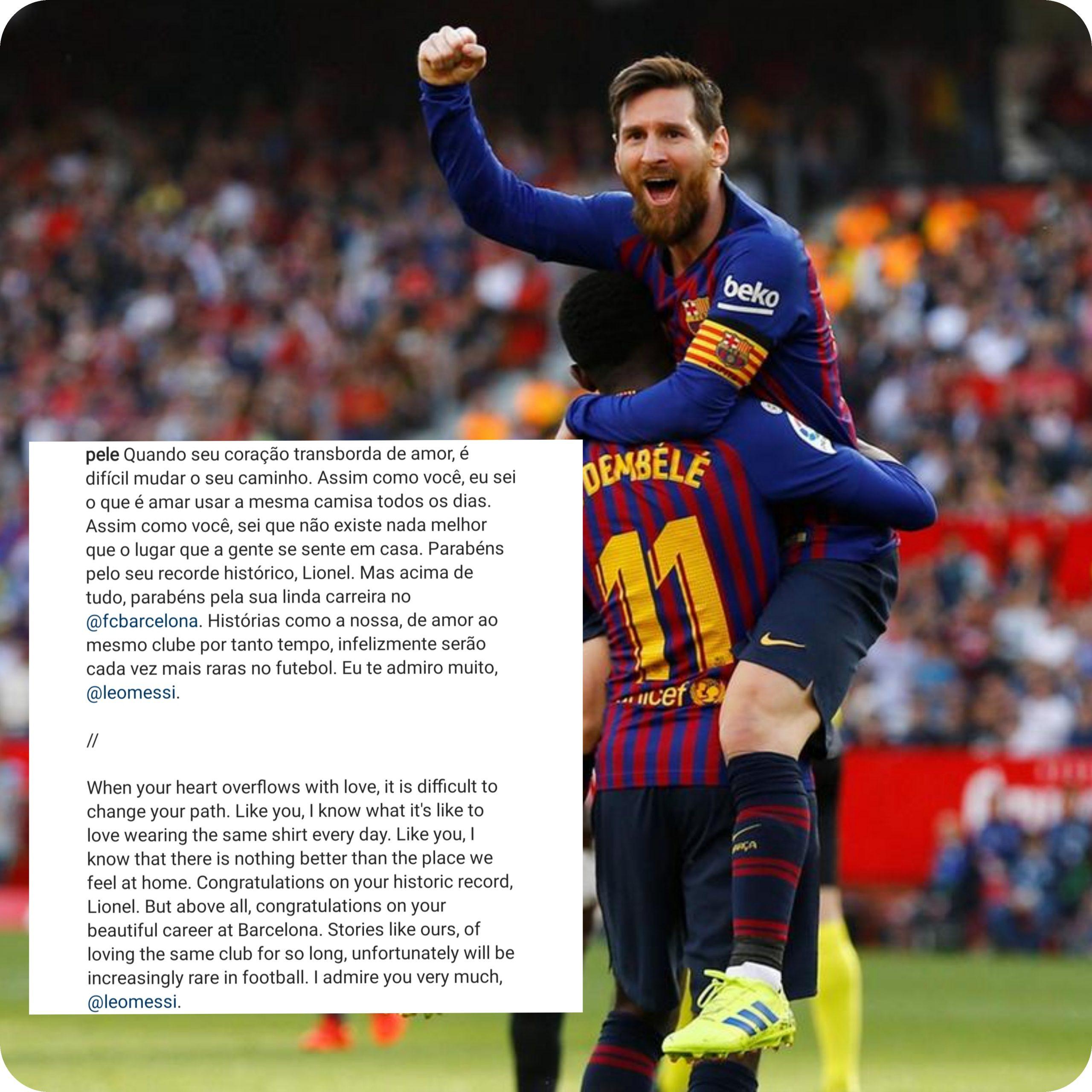 Gagal Cetak Pinalti, Messi Cetak Rekor Bersejarah 5