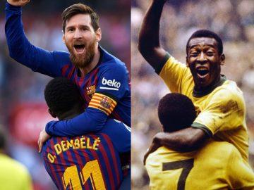 Gagal Cetak Pinalti, Messi Cetak Rekor Bersejarah 6