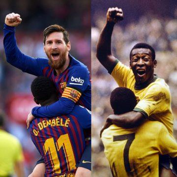 Gagal Cetak Pinalti, Messi Cetak Rekor Bersejarah 9