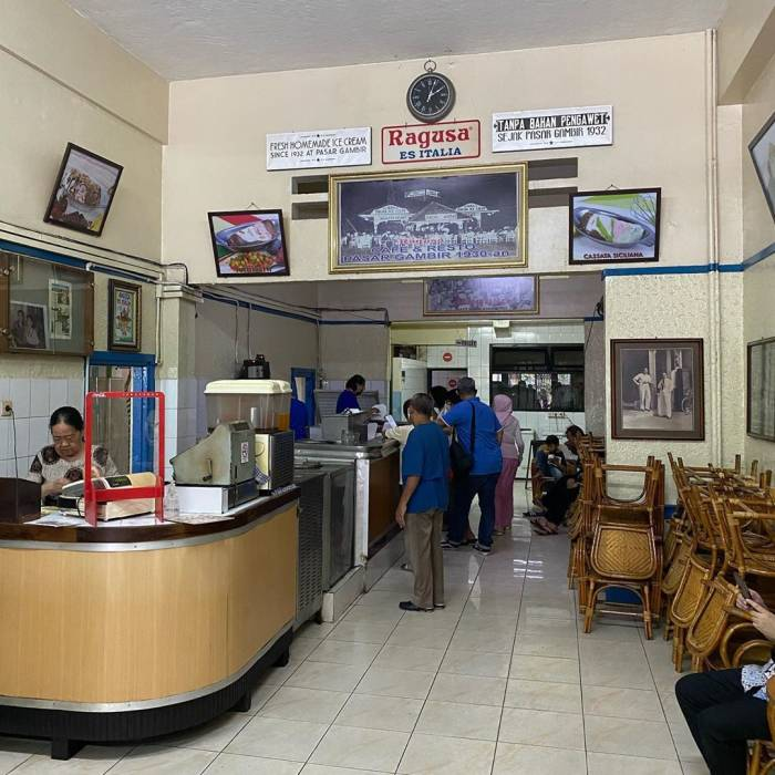 Es Krim Ragusa, Jakarta
