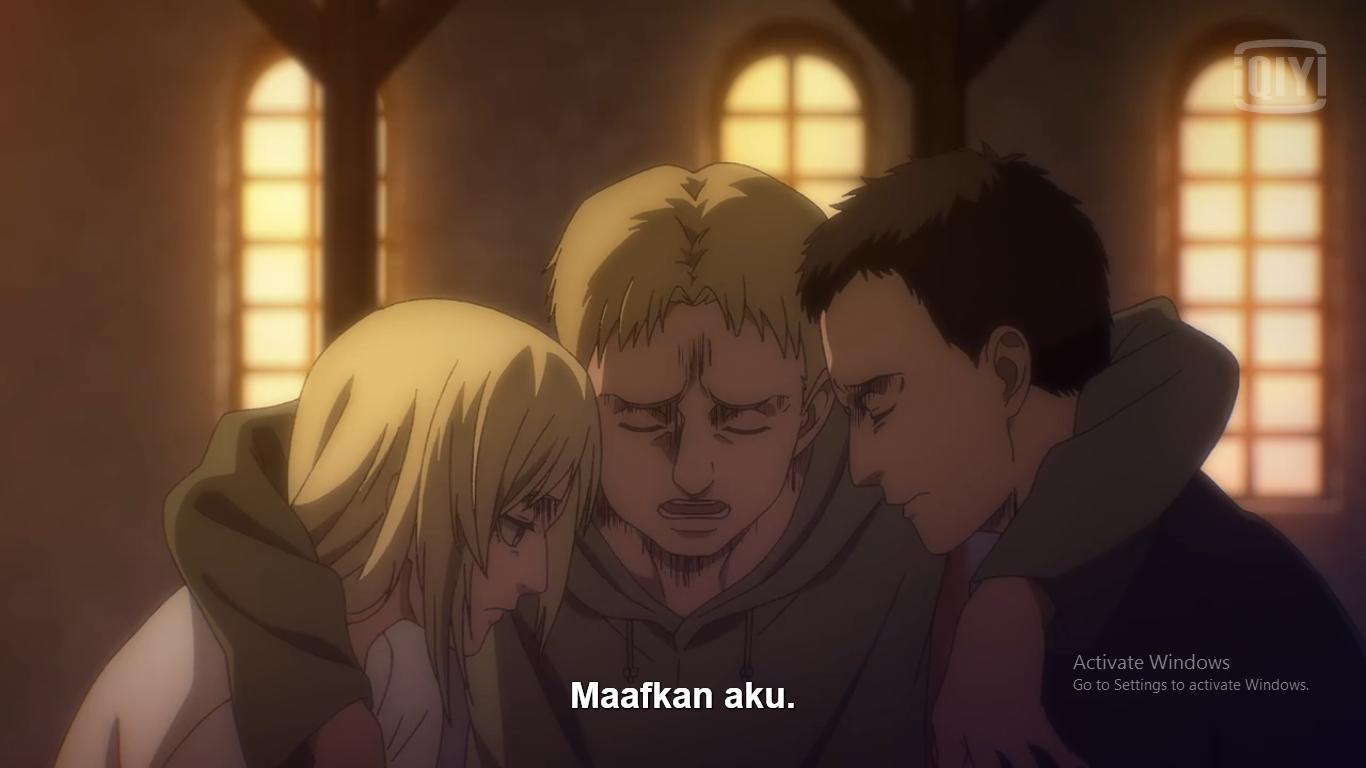 Fakta Menarik Attack on Titan Final Season Episode 3, Reiner Makin Tersiksa 7