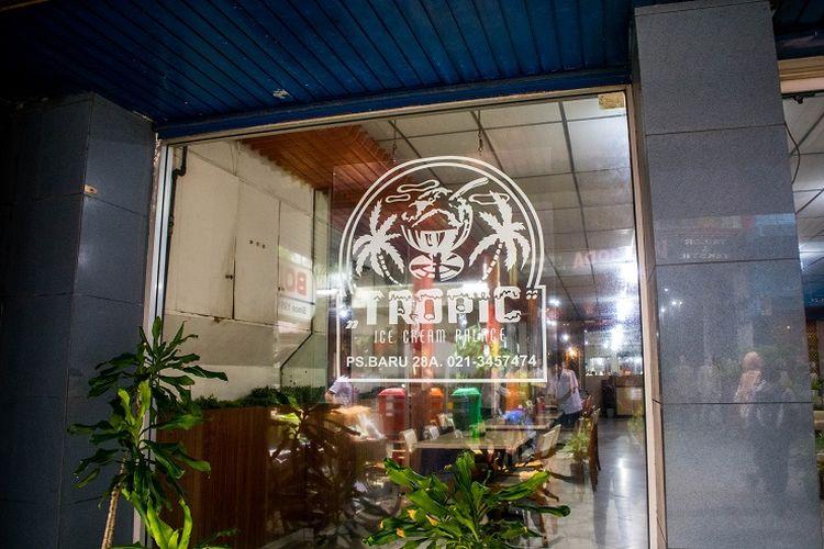 Es Krim Tropic Pasar Baru Jakarta
