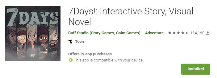 TOP 3 Visual Novel android yang bikin kalian lupa waktu 5