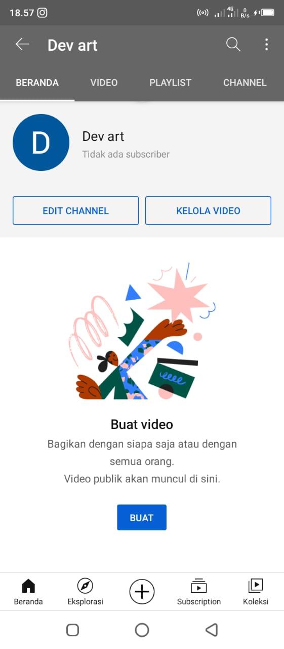 Cara Membuat Channel Youtube Dengan Android Dengan Mudah 5