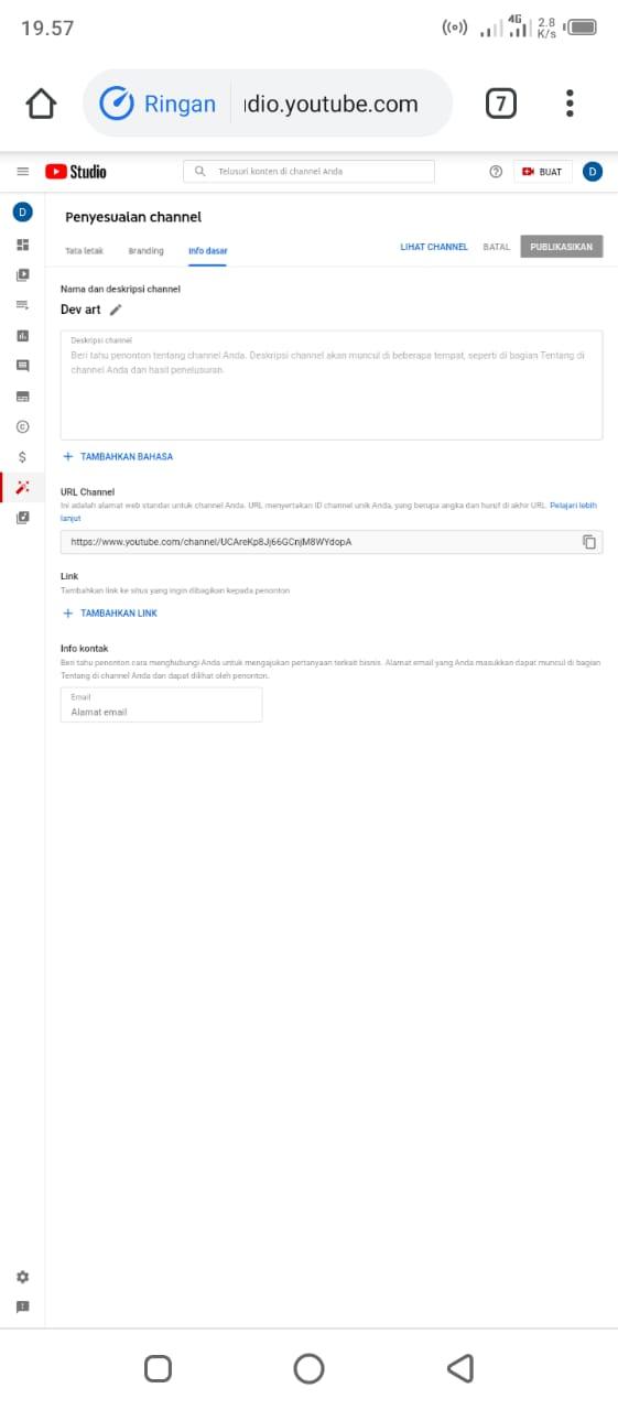 Cara Membuat Channel Youtube Dengan Android Dengan Mudah 6