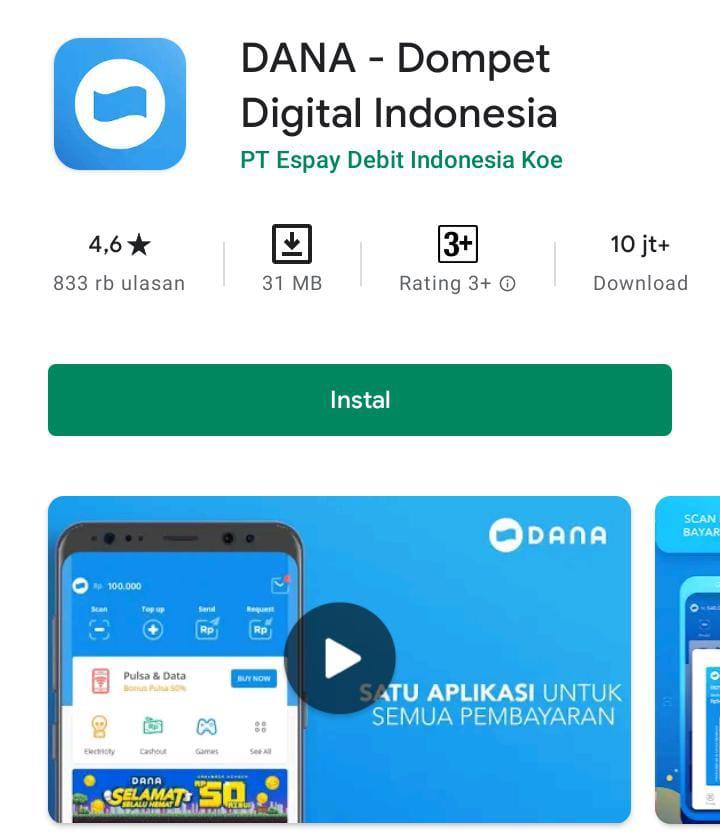 8 Aplikasi Dompet Digital Paling Populer di Google Playstore 9