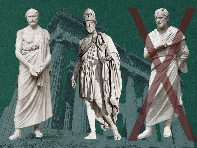 Ostrakisme. Pemilu di Athena pada masa Yunani Kuno untuk mengusir warga negara