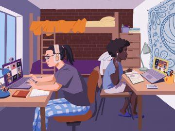 Keadaan Para Pelajar Disaat Pandemi 12