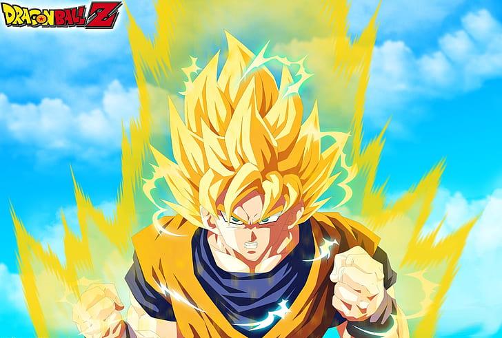 7 Transformasi Gaya Rambut Son Goku Saat Super Saiyan Mode, Paling Keren 4