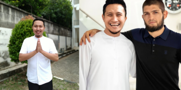 Viral edit foto Khabib Nurmagomedov bersama Artis Indonesia oleh Faisal Hanafi 20