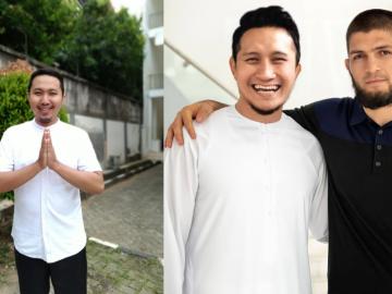 Viral edit foto Khabib Nurmagomedov bersama Artis Indonesia oleh Faisal Hanafi 4