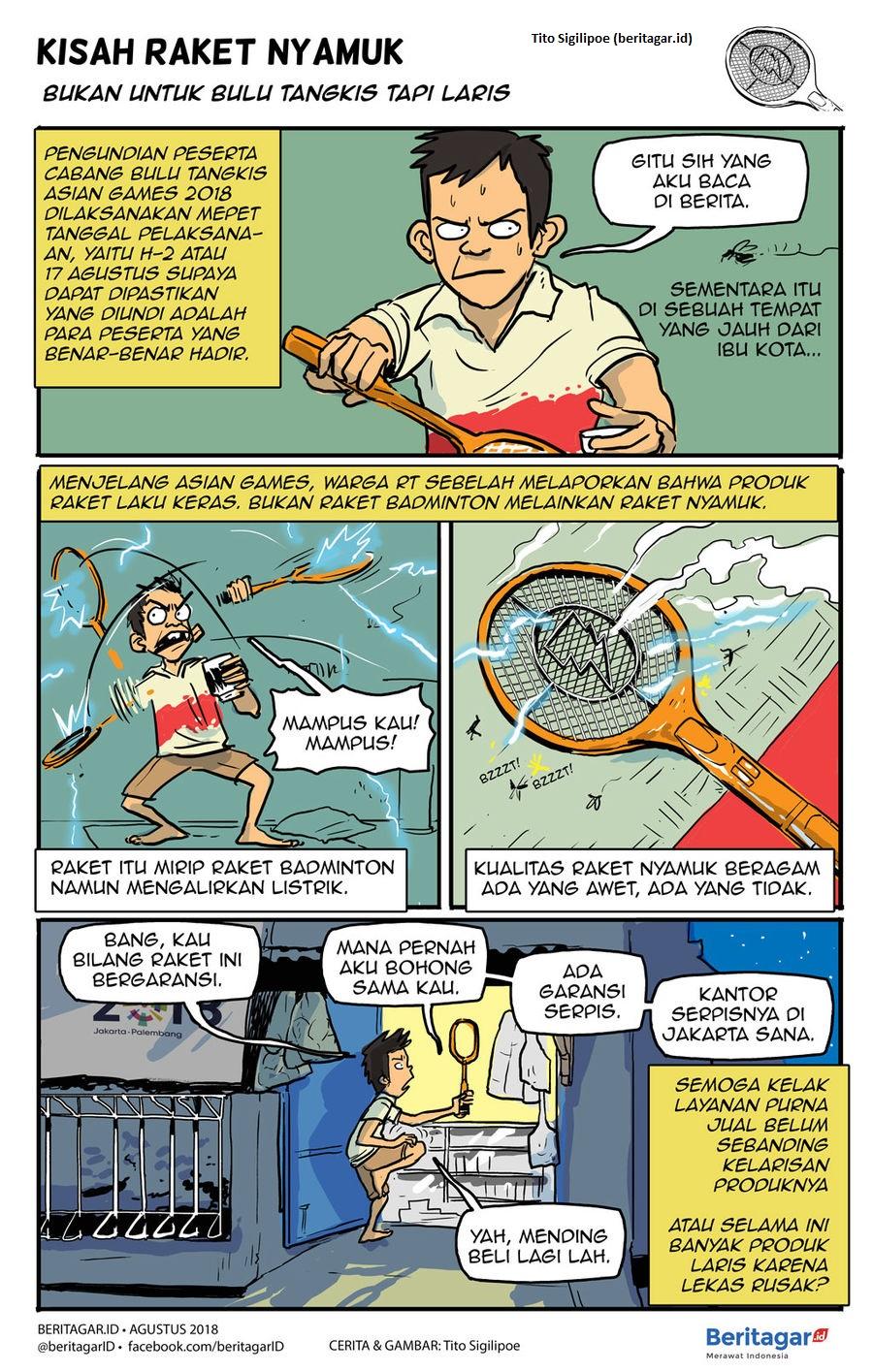 Raket Nyamuk Elektrik, Pembunuh Berdarah Dingin & Musuh Bebuyutan Bagi Nyamuk 4