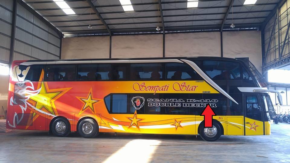 Arti Kode Sasis Bus Scania 4