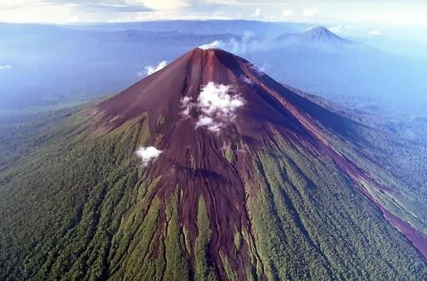 Proses Terbentuknya Gunung Berapi Aktif, Istirahat dan Mati 5