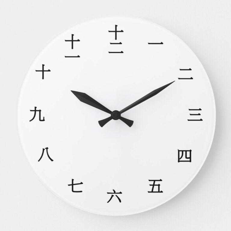 Contoh Penulisan Keterangan Waktu yang Baik dan Benar dalam Bahasa Mandarin 1
