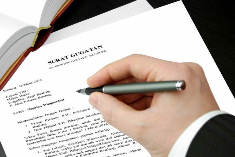 Hal Yang Perlu Diperhatikan Dalam Membuat Surat Gugatan 1