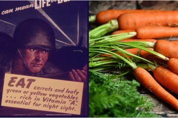 Hoax Manfaat Wortel untuk Mata dan Propaganda Inggris pada Perang Dunia II 3