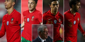 Tak Bergantung Lagi Pada Ronaldo, Timnas Portugal Kini Semakin Merata dan Penuh Bintang 15
